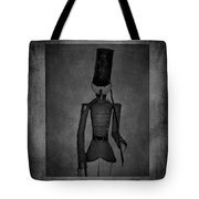 Marching Soldier Bw Tote Bag