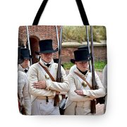 Marching To Battle Tote Bag