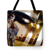 Marci Gras In Abstract Tote Bag