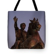 Marcus Aurelius Statue Rome Tote Bag