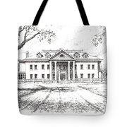 Marcus Daly Mansion Hamilton Montana Tote Bag