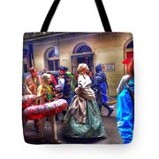 Mardi Gras Craziness Tote Bag