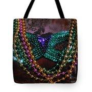Mardi Gras Feminine Mystique Tote Bag