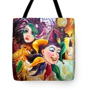 Mardi Gras Images Tote Bag by Diane Millsap
