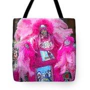 Mardi Gras Indian Tote Bag