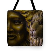 Mardi Gras Lion Tote Bag