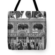 Mardi Gras North - Bw Tote Bag
