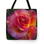Mardi Gras Rose Tote Bag