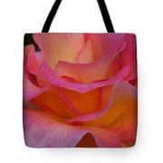 Mardi Gras Rose Macro Tote Bag