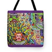 Mardi Gras - Throw Me Something Mister Tote Bag