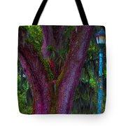 Mardi Gras Tree Tote Bag