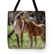 Mare And Colt Tote Bag