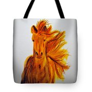 Mare In Motion Tote Bag