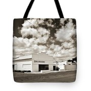 Marfa Ballroom In Sepia Tote Bag