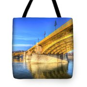 Margaret Bridge Budapest Tote Bag