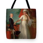 Margaret Callander And Her Son James Kearney  Tote Bag