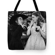 Margaret Hamilton And Judy Garland In The Wizard Of Oz 1939 Tote Bag