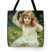 Marguerites Tote Bag by Frederick Morgan