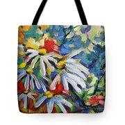 Marguerites Tote Bag