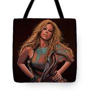 Mariah Carey Painting Tote Bag