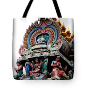 Mariamman Temple Detail 3 Tote Bag
