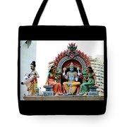 Mariamman Temple Detail 4 Tote Bag