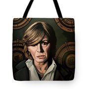 Marianne Faithfull Painting Tote Bag