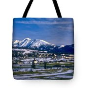 Mariapfarr Snowscape Tote Bag