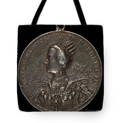 Marie Eleonora Of Brandenburg, 1599-1655, Queen Of Sweden 1620 [reverse] Tote Bag