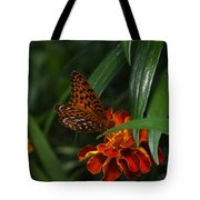 Marigold Grows Wings Tote Bag
