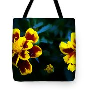 Marigold In Living Color Tote Bag