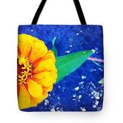 Marigold Under The Stars Tote Bag