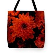Marigolds In Orange Light Tote Bag