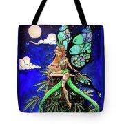 Marijuana Fairy Tote Bag