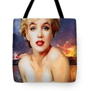 Marilyn Hotty Totty Tote Bag