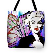 Marilyn In Love Tote Bag