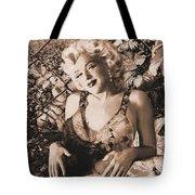 Marilyn Monroe 126 A 'sepia' Tote Bag
