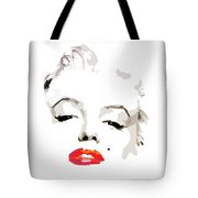 Marilyn Monroe Minimalist Tote Bag