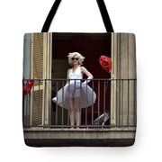 Marilyn Monroe Lookalike Tote Bag