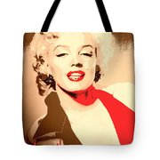 Marilyn Retro Poster Tote Bag