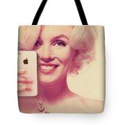 Marilyn Monroe Selfie 1 Tote Bag