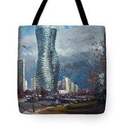 Marilyn Monroe Towers Mississauga Tote Bag