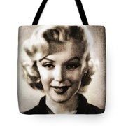 Marilyn Monroe, Vintage Actress Tote Bag