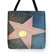 Marilyn's Star Tote Bag