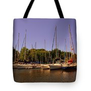 Marina At Lake Murray S C Tote Bag