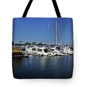 Marina Del Rey California Tote Bag