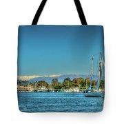 Marina Del Rey Channel Tote Bag