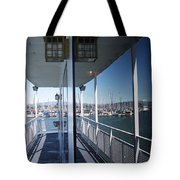Marina Mirror Tote Bag
