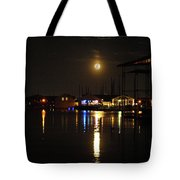 Marina Moon Tote Bag