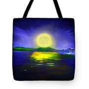 Marina Moonrise Tote Bag